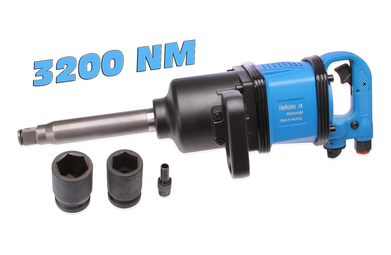 2 Douilles Cl/é /à choc pneumatiques 1 3200 Nm