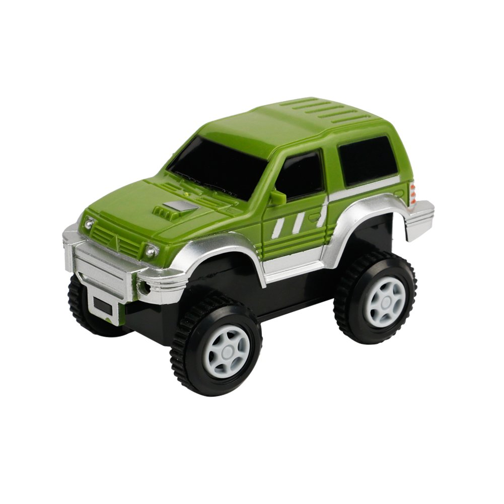 Track Car for Flexible Car Track Set, Compatible with Most of Racing Tracks(Car) CF