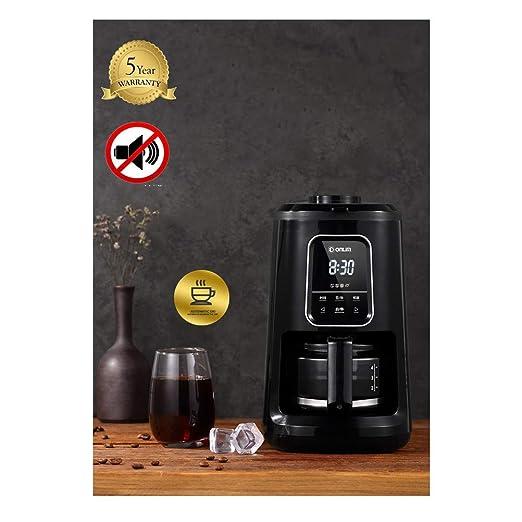 Cafetera con Molinillo, máquina de Filtro de café, máquina ...