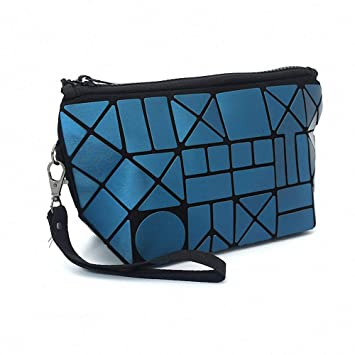 Amazon.com   Fashion Geometric Magic Cosmetic Bags Large Capacity Portable  Travel Makeup Bag Waterproof Handy Pouch Toiletry Bags Storage Organizer Kit  Case ... ae1818c030a74