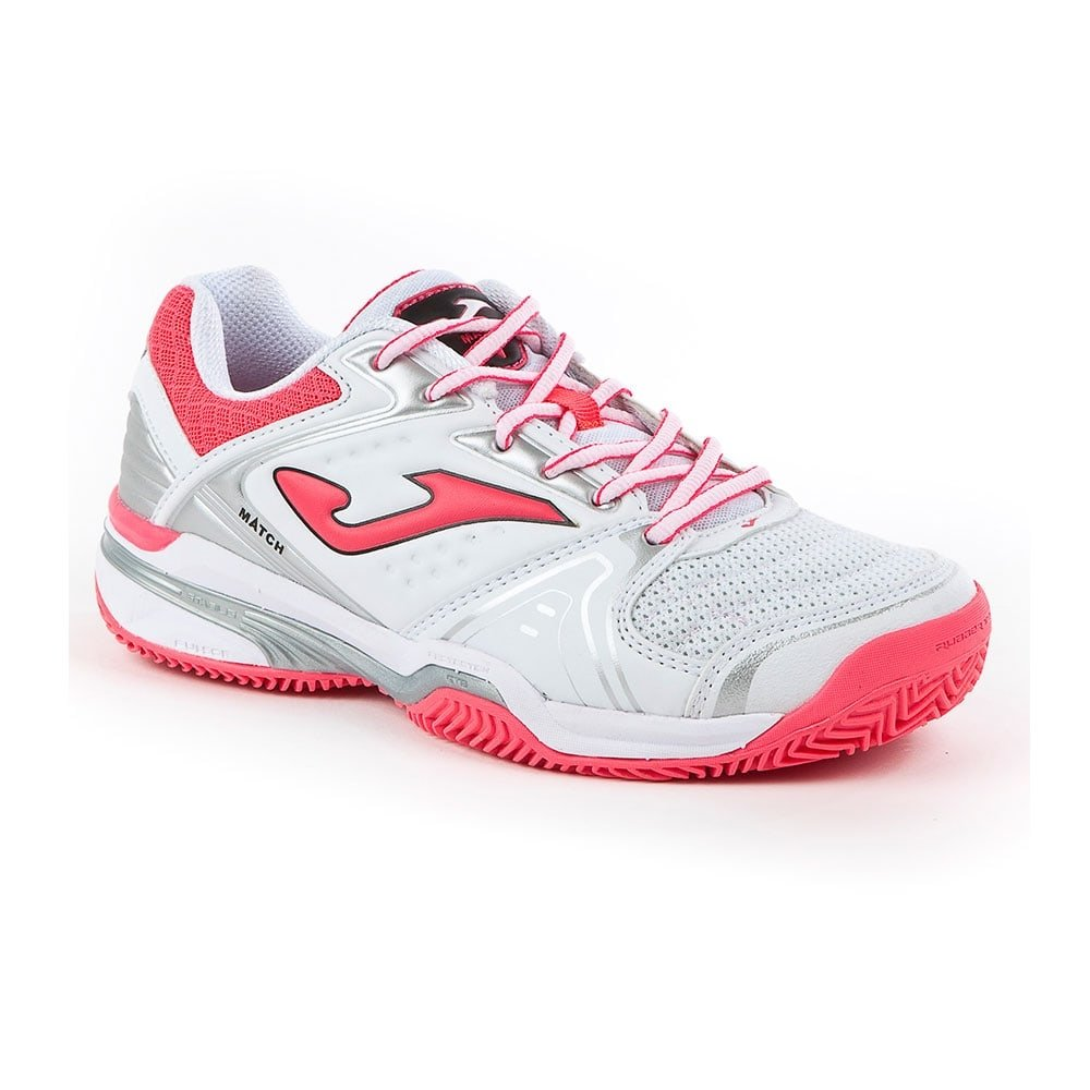 Joma Zapatillas T.Match Lady 702 Blanco Clay: Amazon.es ...