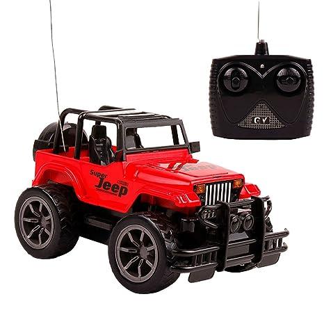 Amazon Com Naimo Off Road Wrangler Remote Control Car 1 24 Toy Car