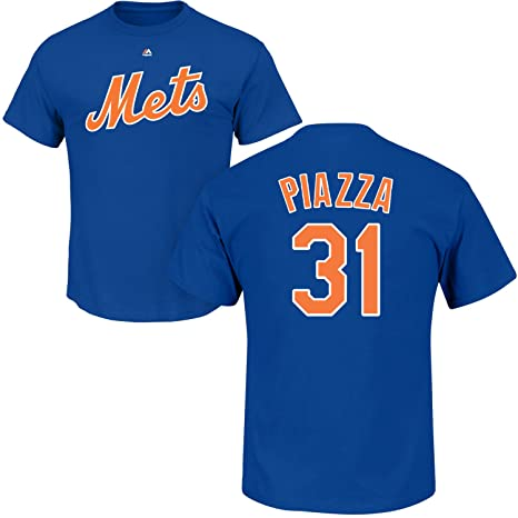 new concept 21c2e c92b9 Amazon.com : Outerstuff Mike Piazza New York Mets #31 Blue ...