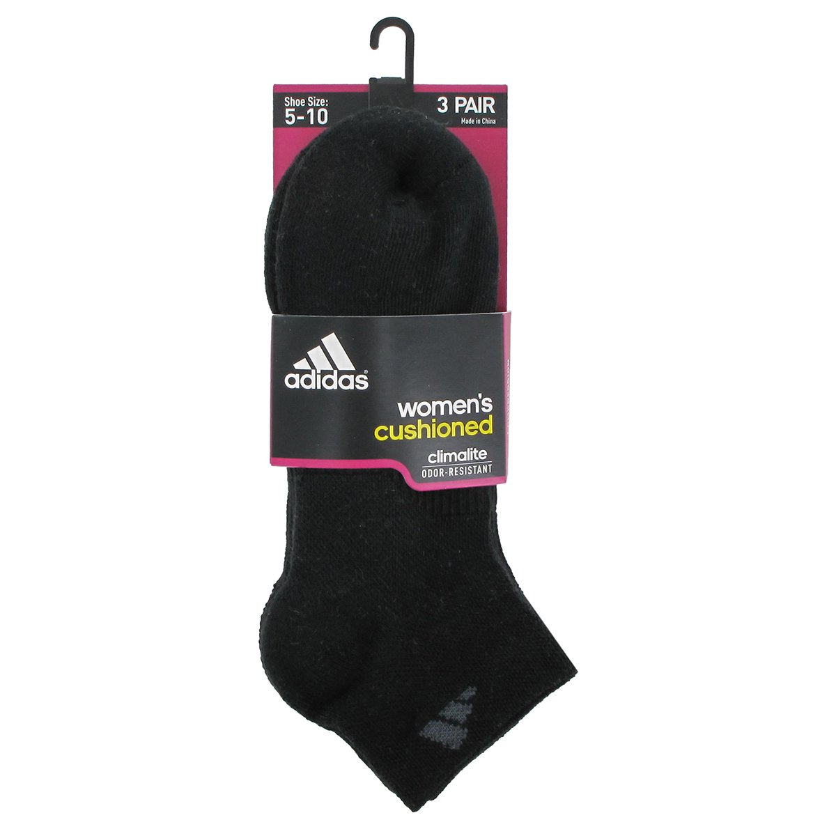 31ad6bc91a2176 Amazon.com  adidas Women s Cushioned Low Cut Socks (3-Pack)