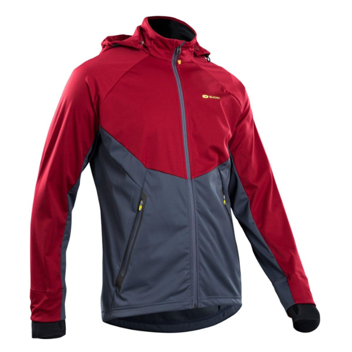 Sugoiファイアウォール180 Jacket – Men 's X-Large レッド(Varsity Red) B01LYXPS7P