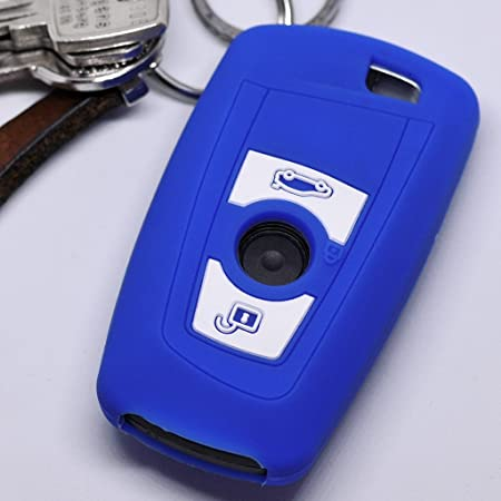 Soft Case Schutz Hülle Auto Schlüssel Für Bmw F20 F13 Elektronik