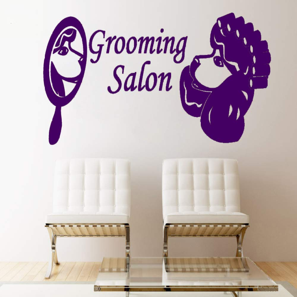 xingbuxin Tatuajes de Pared Pet Shop Grooming Salon Vinilo ...