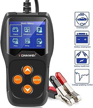 KONNWEI KW600 Car Battery Load Tester