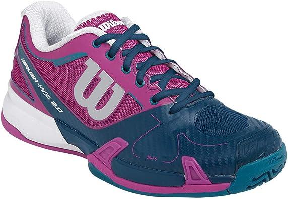 Tennis Shoes Dark Pink/Teal | Tennis