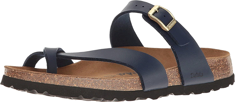 82f83fc48348b Amazon.com | Birkenstock Betula Licensed Women's Mia Birko-Flor¿ Basic Navy  42 A EU A - Narrow | Shoes