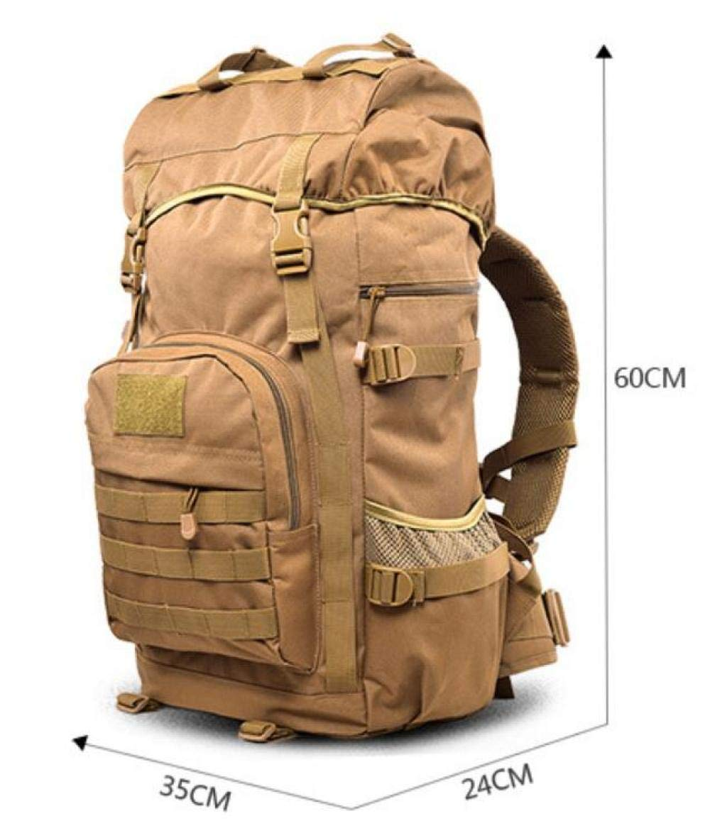 Amazon.com: LAIDAYE Lugg 50L Military Backpack Tactical Rucksack for Camping Hiking Traveling: Sports & Outdoors