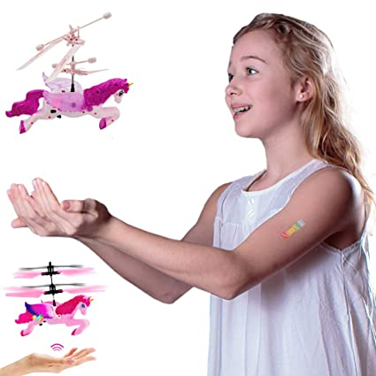 Juego Interactivo Unicornio Volador Drone - Controlado a Mano ...