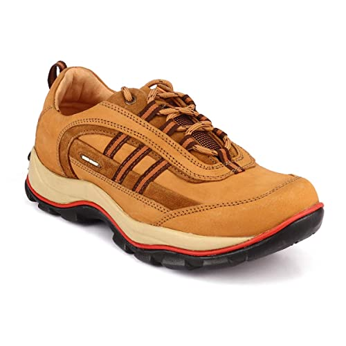 Red Chief Rust Leather Casual Shoes for