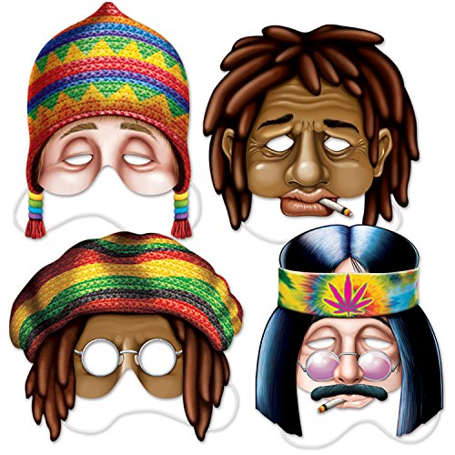 Beistle 66809 Hippie 11 75 Multicolor