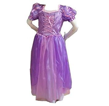 b4341974e7897  コスプレ Desirabl 塔の上のラプンツェル ラプンツェル風ドレス 子供用 Lサイズ