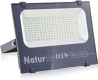 100W Foco LED Proyector, Super-Light Focos Led Exterior Floodlight ...