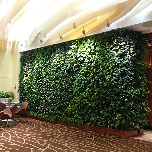 Luyue Artificial Boxwood Greenery Panels Indoor/Outdoor Wall Decor 15.723.6 inches
