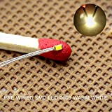 #4: T0603WM 20pcs Pre-soldered micro litz wired leads Warm White SMD Led 0603 NEW