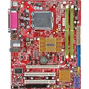 MSI G41M4-L - Placa base (8 GB, Intel, Socket T (LGA 775), 10/100 Fast Ethernet, Realtek RTL8103E(L), mATX)