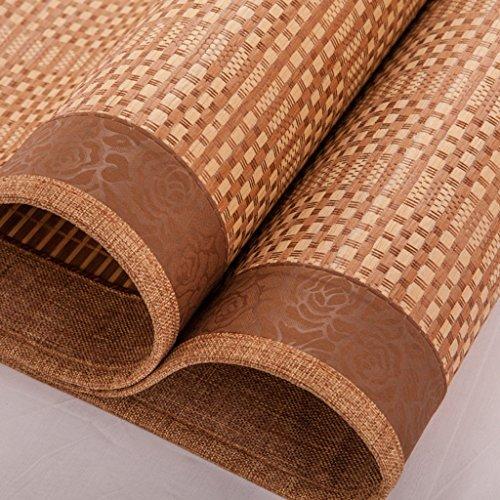 Ren Chang Jia Shi Pin Firm Bamboo mat bamboo cushion mat folding mat sofa cushion summer mat family dormitory mat tatami hotel mat soft comfortable mat mattress yoga mat by Ren Chang Jia Shi Pin Firm (Image #4)