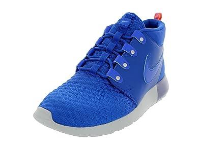 e35bd1bcf8aca Nike Men's Roshe Run Sneakerboot Game Royal/Atomic Orange Running Shoe 11  Men US