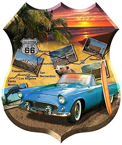 California Shaped Puzzle - SunsOut California 66 Shaped 1000 Pc Jigsaw Puzzle