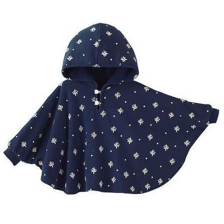 HSL zwei seiten dick wattierte jacke tragt baby cape blau eine grosse