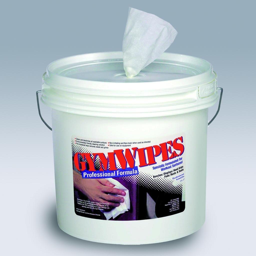 GYM WIPES 2XL-37 Gym Equipment Wipes,8 x 7 in