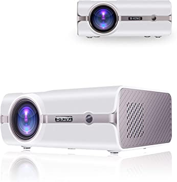 Proyector, Mini Proyector BeamerKing Portable Home Cinema HD LED ...