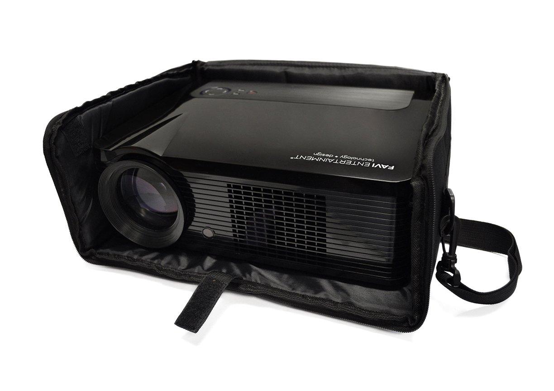 FAVI Universal Video Projector Travel Bag - US Version (Includes Warranty) - Black (FE-LG-BAG-BL) by FAVI (Image #6)