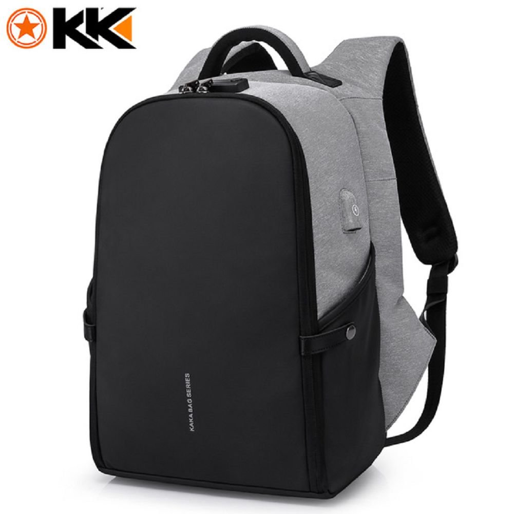Amazon.com: New 15.6inch Laptop Backpack Male USB Business Anti theft Backpack for Men Mochila Fashion Travel Backpacks School Bags (type1): Computers & ...