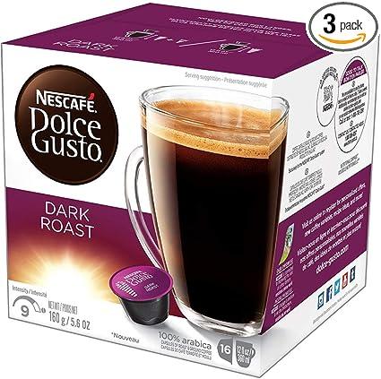 Nescafé Dolce Gusto De Cápsulas De Café Mezclas De Especialidad 16 Unidades Paquete De 3 Grocery Gourmet Food