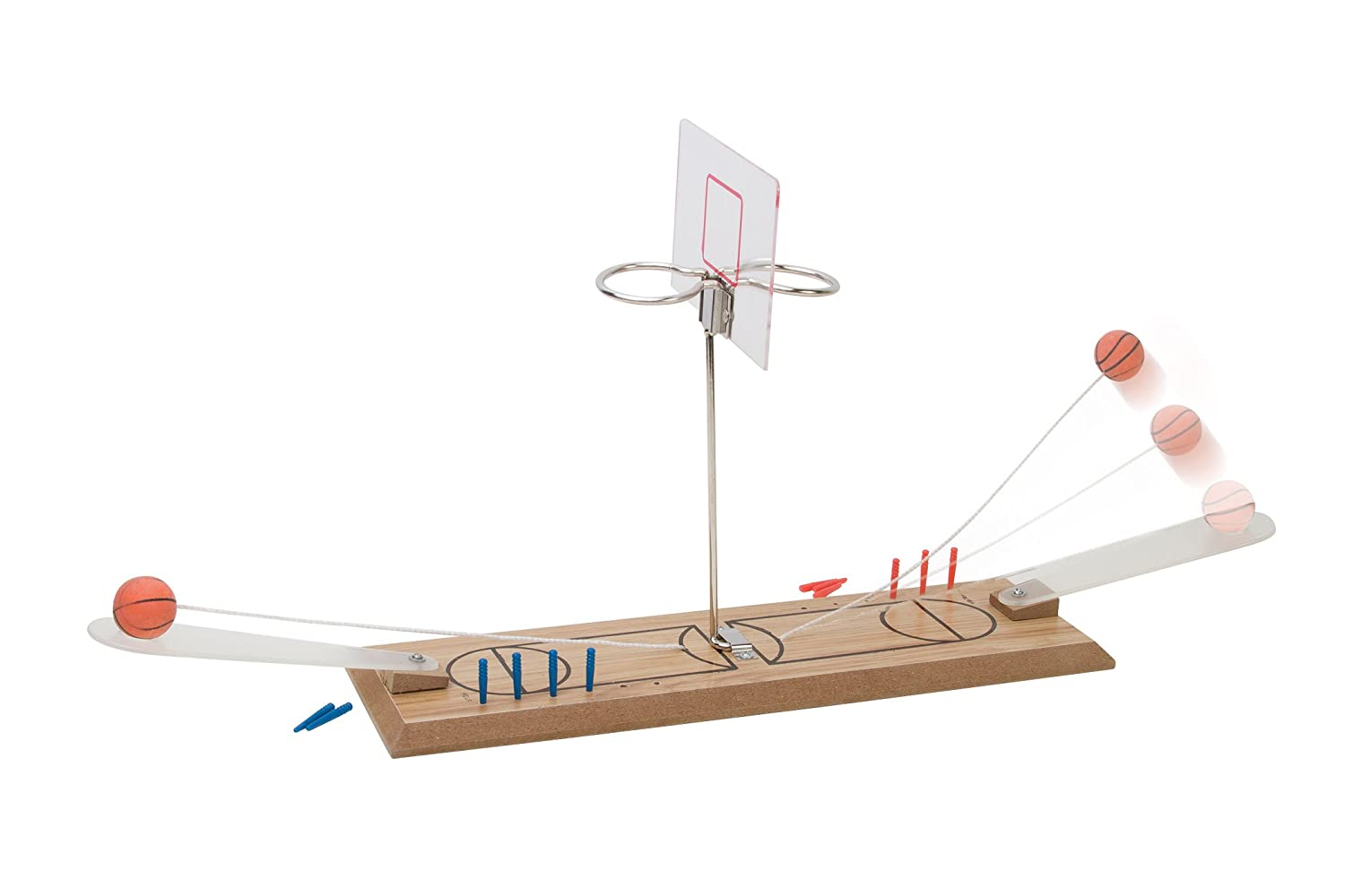 Amazon.com: Perfect Life Ideas Desktop Basketball Game 1 or 2 Player ...