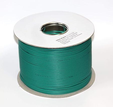 Genisys Begrenzungskabel 100m Kompatibel Mit Bosch Indego 350 400 Connect 800 Kabel Begrenz Draht 2 7mm Garten