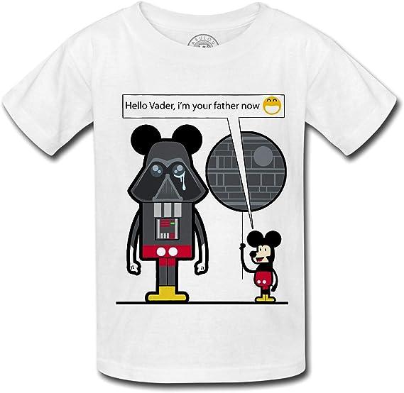 T Shirt Enfant Game Of Geek Dark Vador Mickey Je Suis Ton