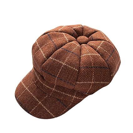 ZOODQ Sombrero de señora Beret Estilo francés Boinas de Lana para Mujer  Gorritas clásicas Retro Gorra 04a6228cbad