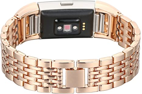fitbit charge 2 bracelet cuir rose