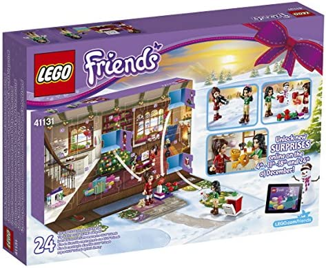 LEGO - 41131 - Friends - Jeu de Construction - Le Calendrier de l'Avent