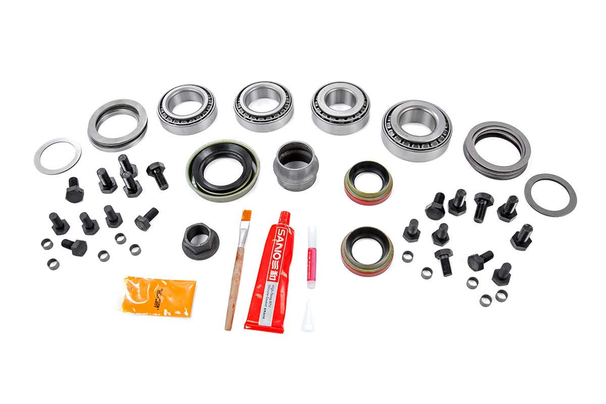 Rough Country Dana 30 Master Install Kit Compatible w// 2007-2018 Jeep Wrangler JK D-30 Front Axle 53000011