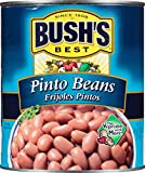 Gourmet Food : Bush's Best  Pinto Beans 111 oz (6 cans)