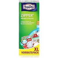 Toppits - Zipper Allzweckbeutel 1 Liter XL