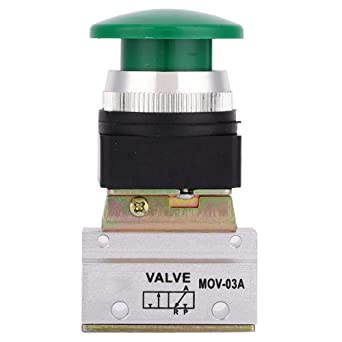 Válvula Mecánica Neumática de 2 Posiciones y 3 Vías MOV-03A G1 / 8