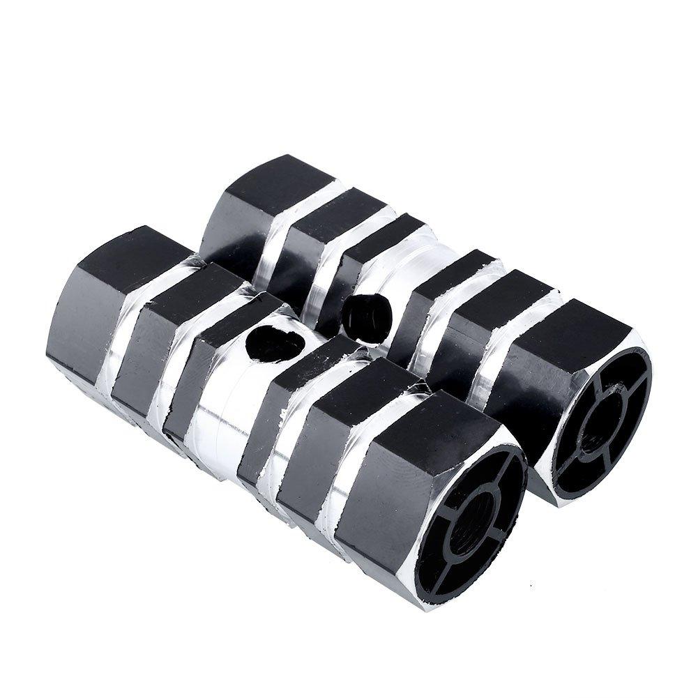 BOROLA 8Pcs Car Door Protector Edge Guard Scratch Strip Black