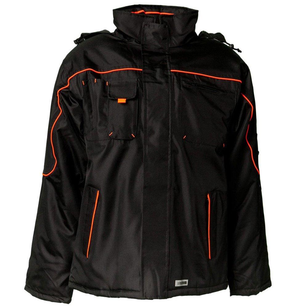 Planam Jacke Winter Piper, größe S, schwarz   Orange, 3535044 B002RBIEIU Jacken Mittlere Kosten