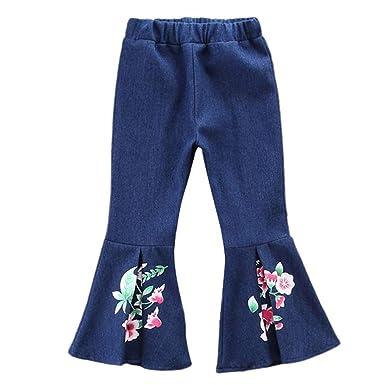 Staresen Leggings Pantalones Vaquero Acampanados Jeans ...