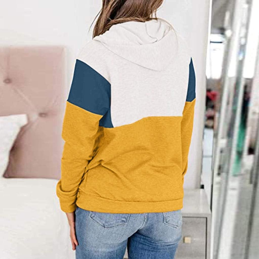 CHMORA - Sudadera de manga larga con capucha para mujer ...