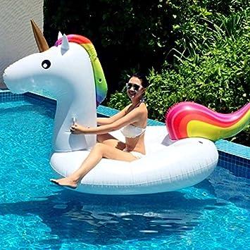 Wewoo Flotador Anillo Flotante Natación en Forma Unicornio ...