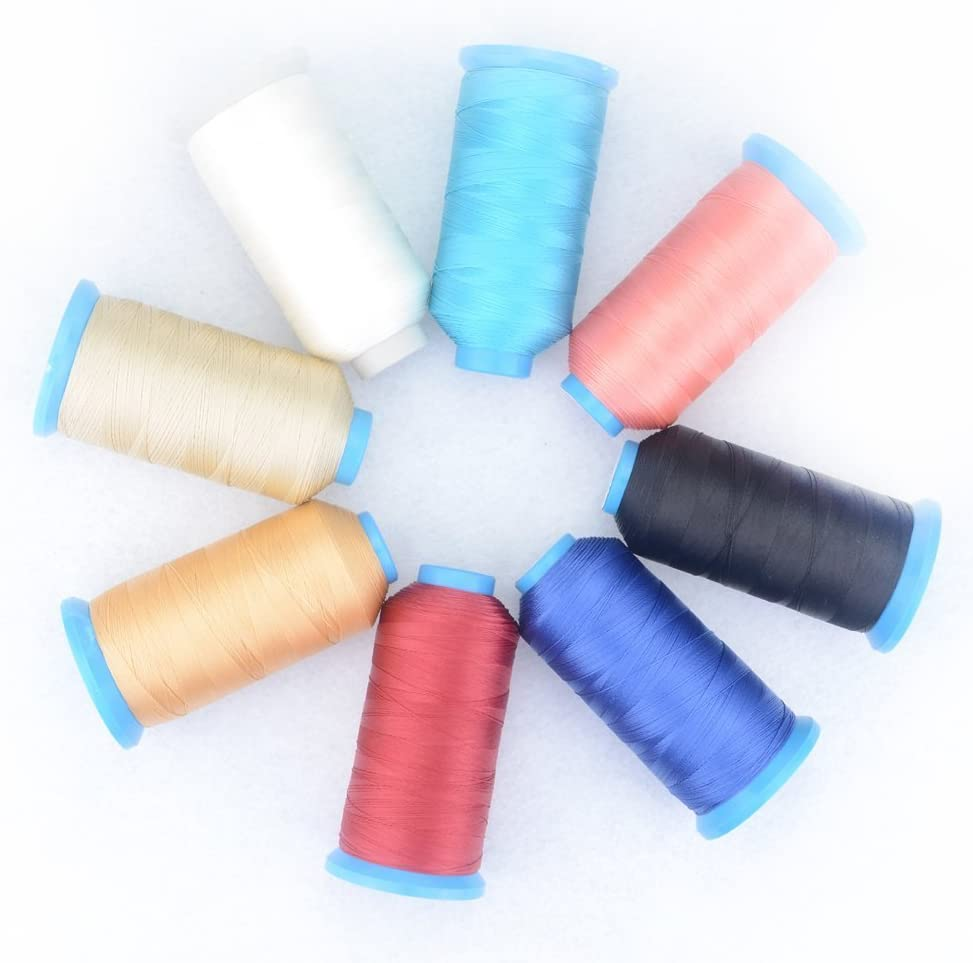 Shoes Luggage Upholstery Sewing Machine Hand Stitching,1Pcs Bag Nylon Sewing Thread for Outdoor Drapery Beading Canvas Purses Leather Seat