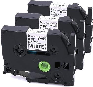 3 x Brother Compatible TZ231 P-Touch PT1750 PT1760 PT1800 PT1810 PT1830 Tape
