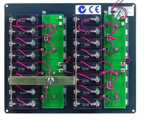 BEP 904NM DC Panel 16-way Ancor Marine Grade Products